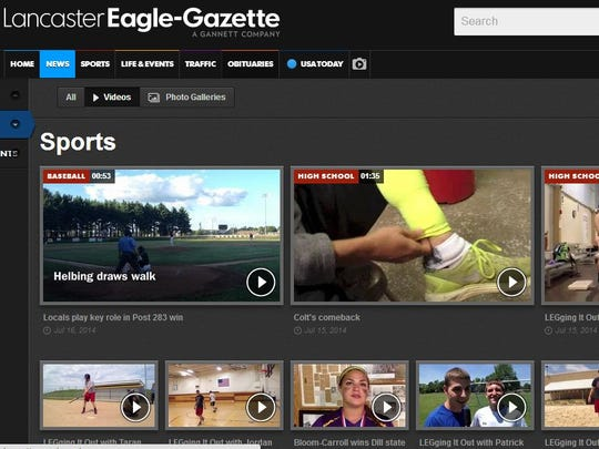 Get more from articles with easy-to-find share tools, embedded photos, galleries, videos and interactive content.