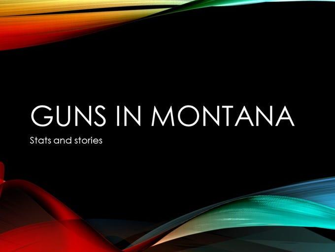 Guns in Montana