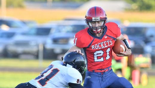 Spencer/Columbus senior Noah Zastrow and the Rockets take on Amherst in a Division 5 Level 2 game Friday.