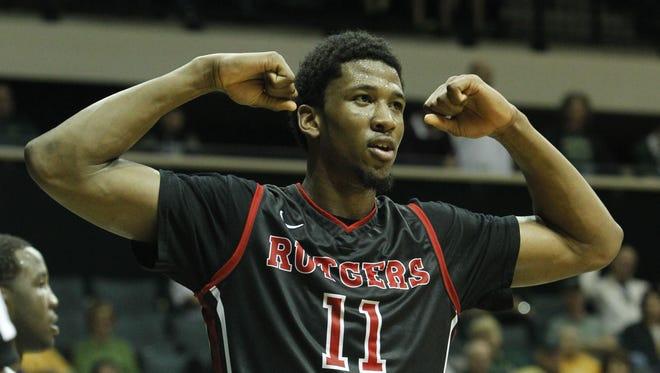 Kadeem Jack is a co-captain for the Rutgers men's basketball team.