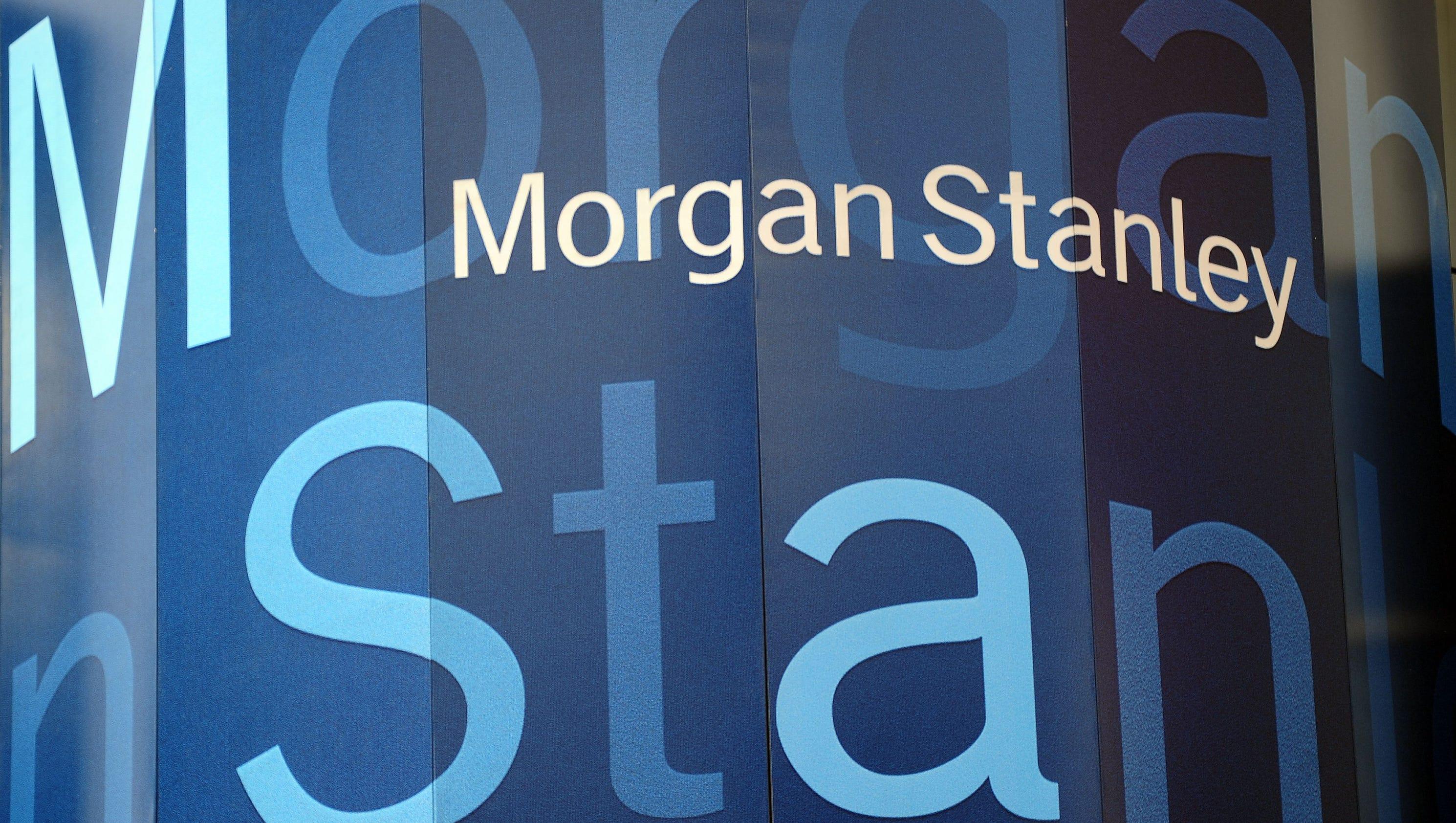 Morgan Stanley Shares Slide 5 On Earnings Miss