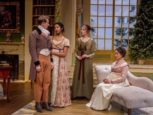 Christmas At Pemberley.Theater Review Miss Bennet Christmas At Pemberley