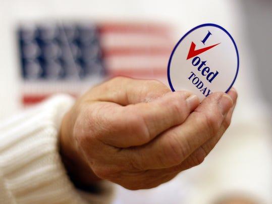 AP APTOPIX AMERICA VOTES A ELN USA ME
