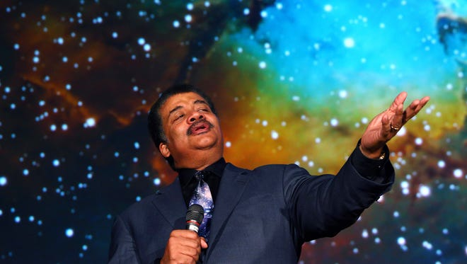"The Drew Forum hosted Astrophysicist Neil deGrasse Tyson at its Simon Forum and Athletic Center. DeGrasse Tyson is the head of the Hayden Planetarium as well as a prominent public figure championing science and critical thought. He spoke on the topic, ""An Astrophysicist Reads the Newspaper."" Sept. 26, 2017"