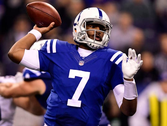 USP NFL: PITTSBURGH STEELERS AT INDIANAPOLIS COLTS S FBN IND PIT USA IN