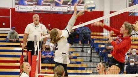 Rock Creek junior Grace Gehl was a force at the net during a huge week for the Mustang program. Gehl had 18 blocks and 46 kills and helped Rock Creek to upsets of Class 2A No. 1 Wabaunsee and Class 4A No. 2 Circle.