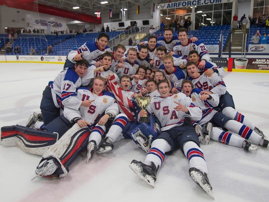 Saturday's 3-2 win over Finland at USA Hockey Arena in Plymouth gave the NTDP U18s the Five Nations tourney championship.