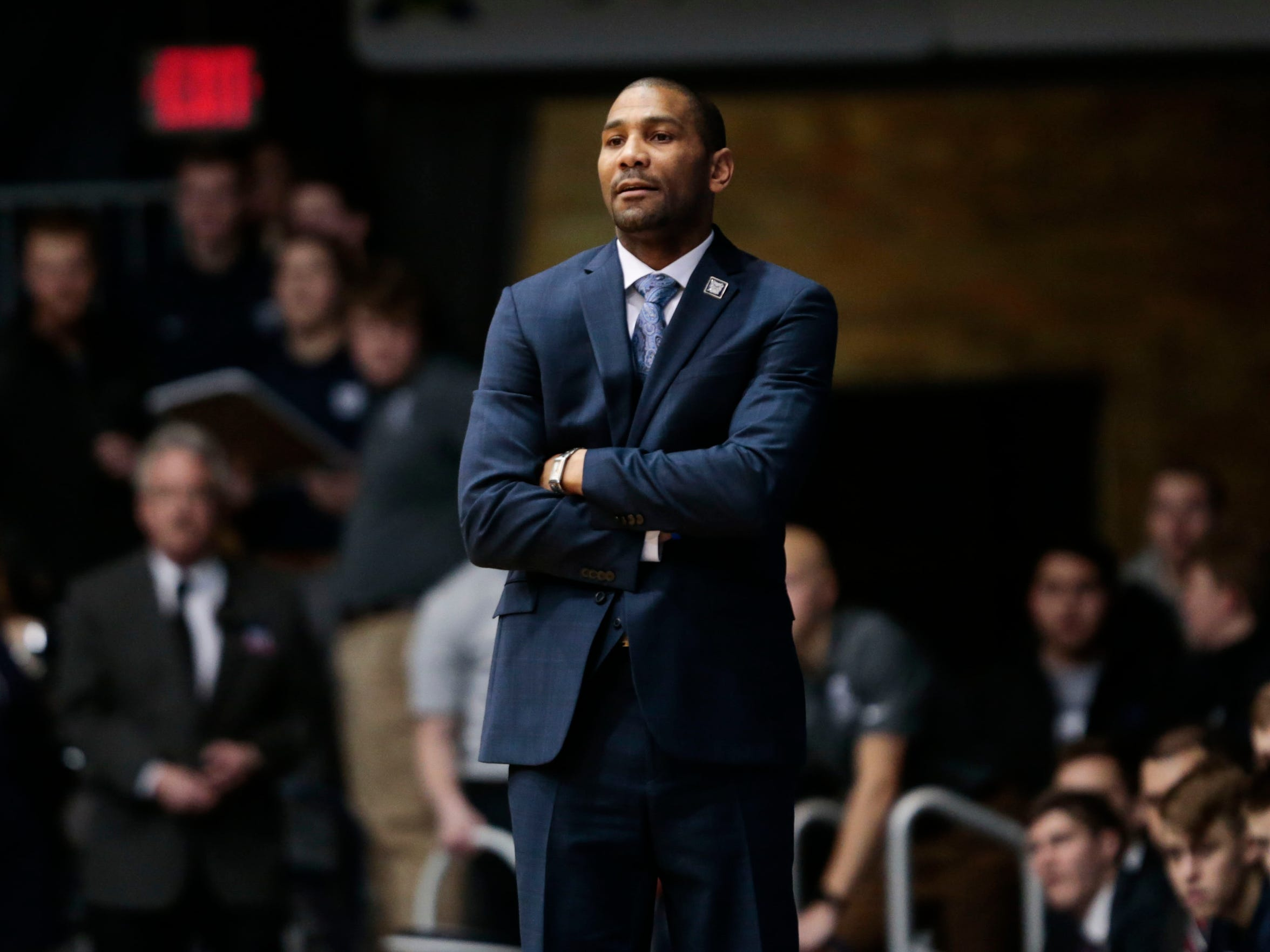 Butler head coach LaVall Jordan, back at his alma mater, coached one year at UW-Milwaukee during the 2016-17 season.