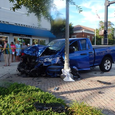 Rehoboth Beach police said the driver of this car got