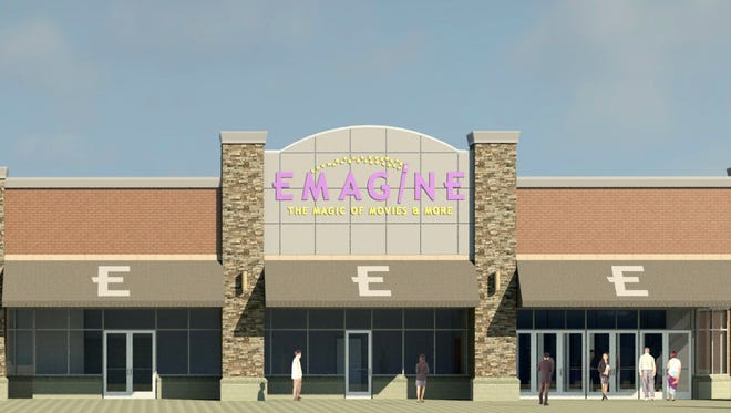 Michigan owned and operated Emagine Entertainment, Inc. is pleased to announce that it will open a brand new movie theatre concept offering an upscale and luxurious movie going experience.  Emagine Macomb will open to the public on December 19, 2014. The theatre will be located at 15251 23 Mile Road on the northeast corner of Hayes Road in Macomb Township. Picture received Nov.14,2014 from Emagine