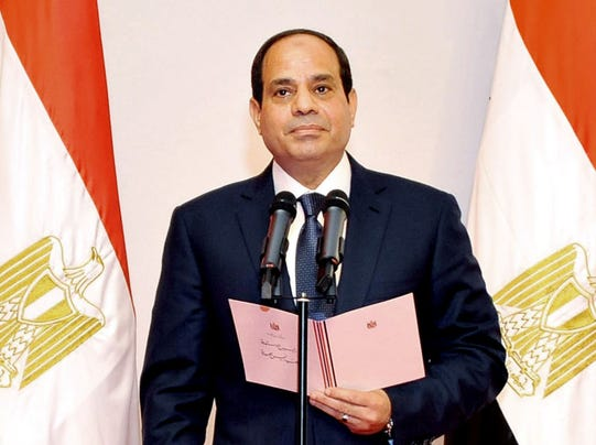 Egypt President Sisi Egypt's Al-sisi Sworn in as