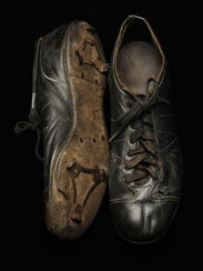 Shoeless Joe Jackson's baseball shoes