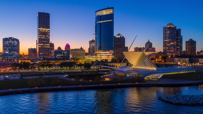 Downtown Milwaukee's Art Museum is just one of many hot spots in the city.