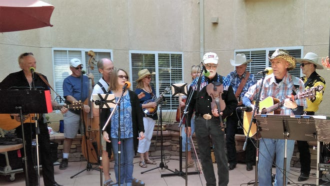 Old Country Grass Band will play Feb. 3 at Poinsettia Pavilion.