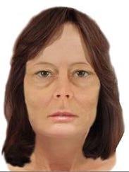Digital rendering of missing woman by a forensic artist