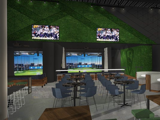 Topgolf Swing Suite bays