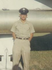Michael Catalano, in 1966, just out of Air Force basic