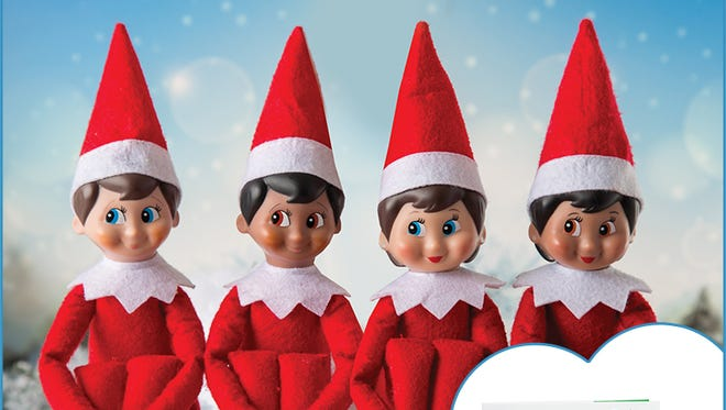 Just a few elves from 'The Elf on the Shelf' by Carol Aebersold and Chanda Bell