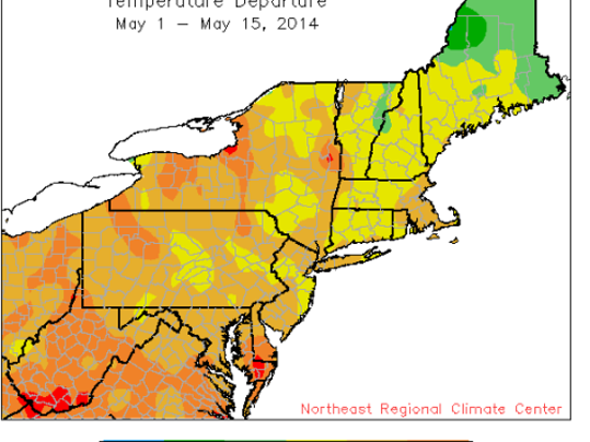 Source: Northeast Regional Climate Center