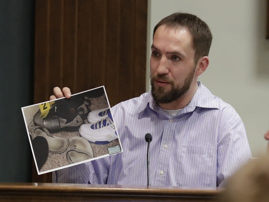 Matthew Wassenberg, who befriended Burch and put him up in his home for a couple of months after Nicole Vanderheyden's murder, testified Monday about shoes that investigators seized from his home.