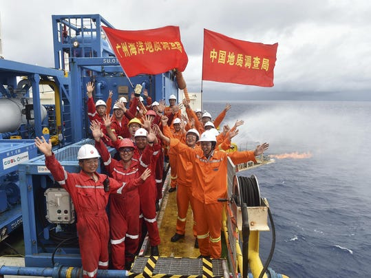 China Japan Combustible Ice (3)