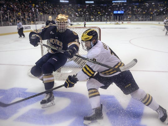 BIG10: Staudt - Notre Dame A B1G Addition On The Ice