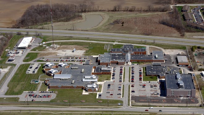 The Hamilton County jail complex.