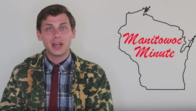 "Comedian Charlie Berens. known for his weekly ""Manitowoc Minute"" video series, will perform March 6 at the Weidner Center."