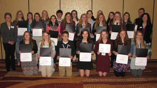 Twenty-six students from six Manitowoc County high schools graduated from Chamber program.