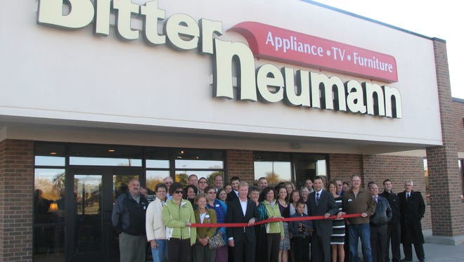 The grand opening of the Manitowoc Bitter Neumann store.
