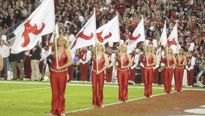Scenes from inside Bryant-Denny Stadium before the Alabama/LSU game Saturday, Nov. 5, 2011, in Tuscaloosa, Ala. (Montgomery Advertiser, Mickey Welsh)