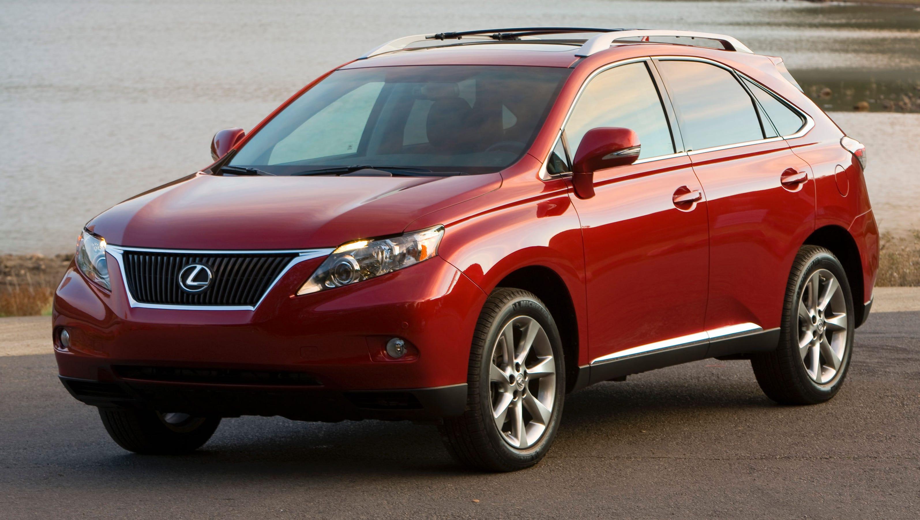 Toyota recalls RAV4, Tacoma, Lexus RX