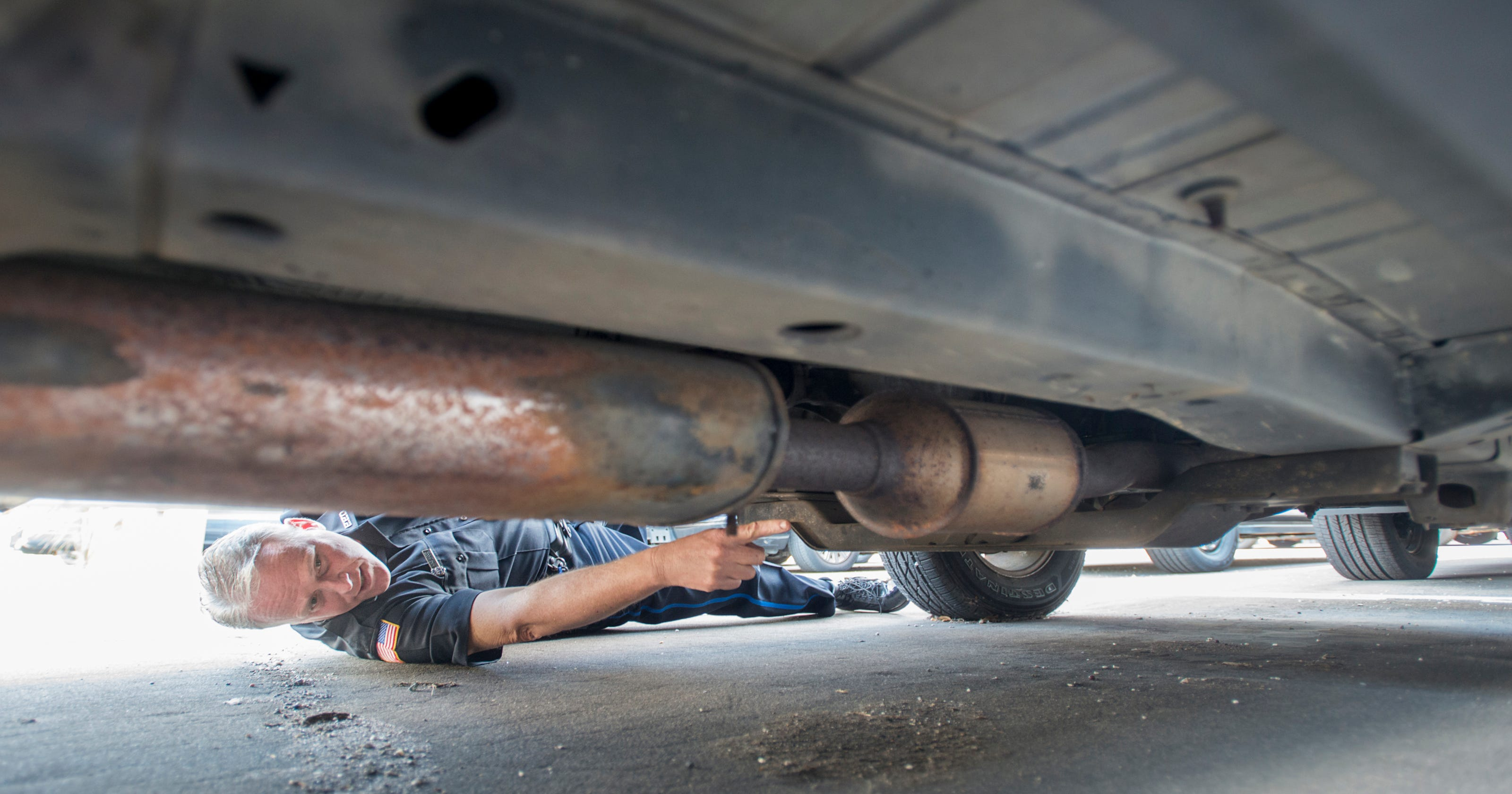Pensacola police say thieves are cutting catalytic