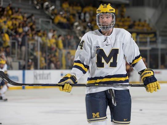 Michigan junior defenseman Nicholas Boka was a sixth-round