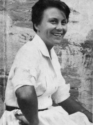 The cover photo of Harper Lee, taken in the 1950s, reminds readers when Watchman was written.