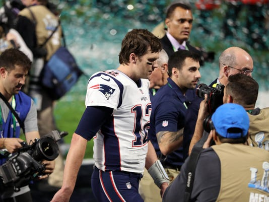 Super Bowl 2018 No Jersey Drama Just Disappointment For