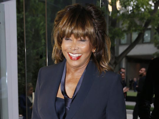 Tina Turner is pictured in Italy in 2015.