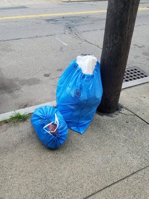 Malden residents might soon be doing away with the city's blue Pay As You Throw trash bags in favor of a new barrels system. Trash and recycling would be collected in different bins, leaving residents to pick their own trash bags.
