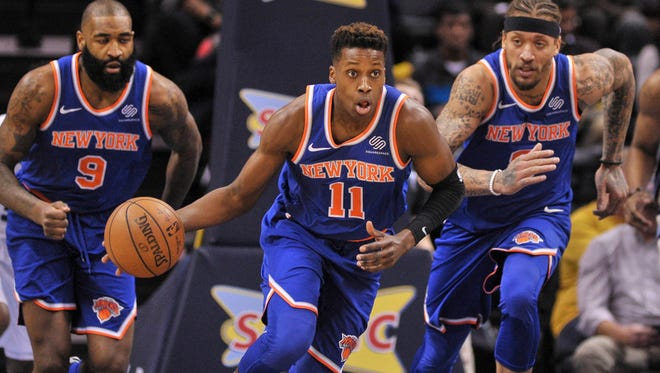 Knicks rookie guard Frank Ntilikina could see more playing time after the All-Star break as the team evaluates players for its future.