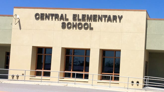 Central Elementary School was recognized for jumping from an F to a B in the New Mexico Public Education Department's report card for this year.