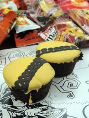 Hostess Halloween cupcakes are pictured Monday, October 13, 2014, at The Advertiser.