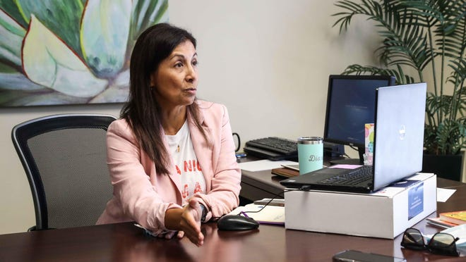 """Diana Maldonado was named CEO of the Greater Austin Hispanic Chamber of Commerce in July. Amid the coronavirus pandemic, """"we  are all looking for how to pivot and reinvent and come out stronger than before,"""" she said."""