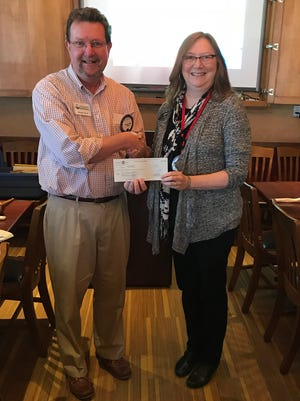 Janet Evans, VP Trust Officer with Integrity First Bank, recently presented a check in the amount of $25,766.40 to George Truell, President of the Mountain Home Lion's Clubonbehalf of the Adeline Dvorak Trust administered by Integrity First Bank Trust & Wealth Management Services.Lion's Club International is the largest and oldest civic organization in the world and provides sight care and hearing related services through their local chapters. For more information about the Mountain Home Lions Club, please visit www.mountainhomelions.org. For more information about Integrity First Bank Trust & Wealth Management, please visit www.goifb.com or call (870) 425-1801.