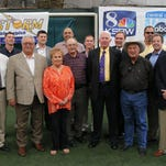 The Salinas Valley Sports Hall of Fame inductees Saturday at the Salinas Storm House.