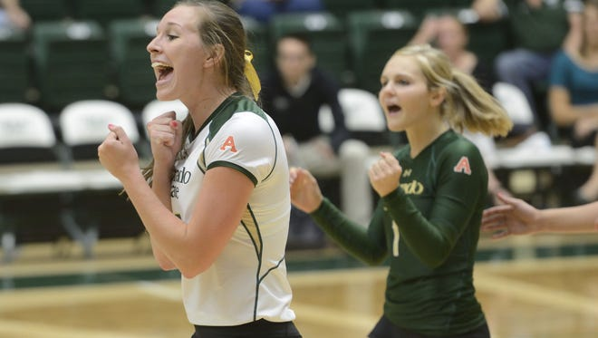 Adrianna Culbert and Jaime Colaizzi are two of four CSU seniors who will be honored Nov. 28.
