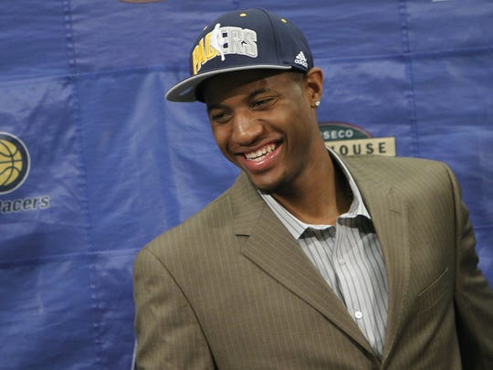 Both the Pacers and Paul George have plenty of reasons to smile after his selection in 2010.
