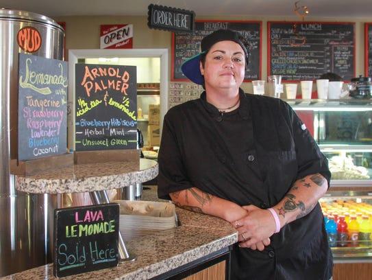 Brooklyn Adams, 37, opened Lava Java House in Lavallette