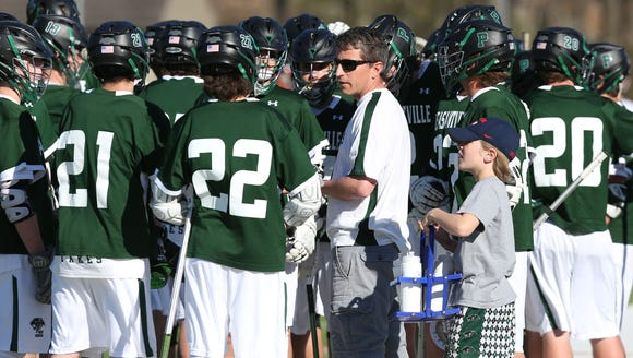 Briarcliff defeated Pleasantville 8-7 in a  lacrosse