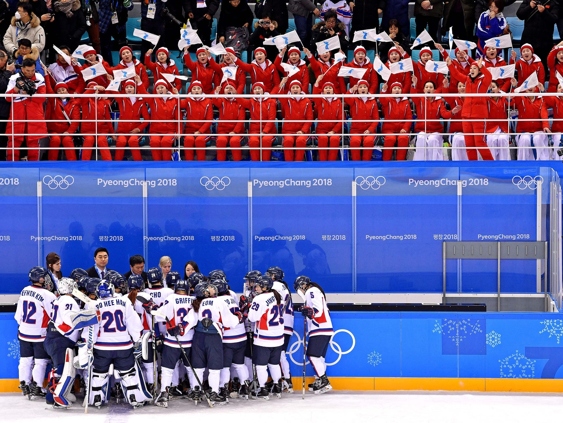 Pyeongchang: Olympic Hockey - Korean Team Struggles Against Switzerland In 8-0 Loss