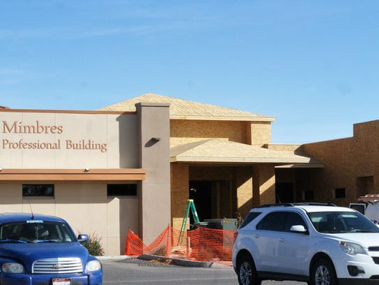 Expansion underway at Deming's Mimbres Memorial Hospital.